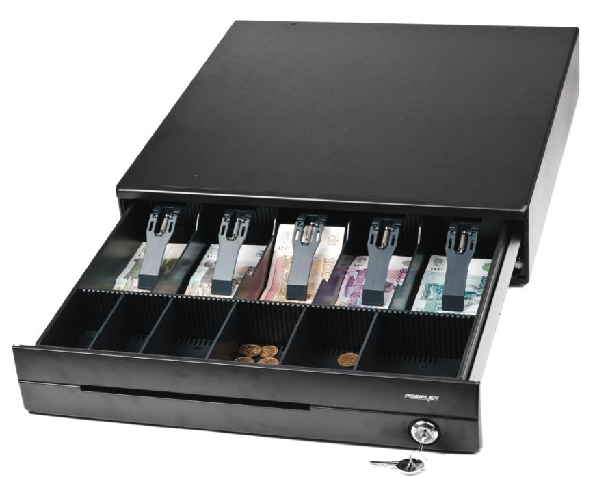 Денежный ящик Posiflex CR-4000B (черный)