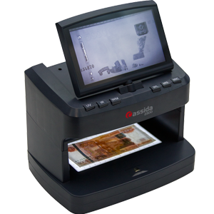 Универсальный просмотровый детектор банкнот Cassida 2300 series