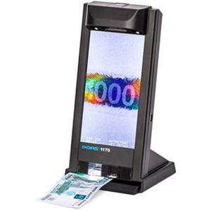 Dors 1170D — универсальный просмотровый детектор банкнот
