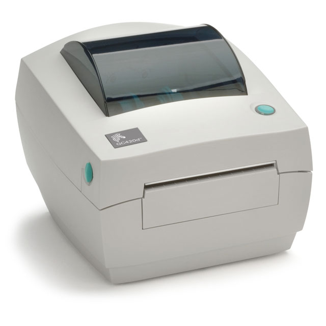 Zebra GC420d — термотрансферный принтер для печати этикеток